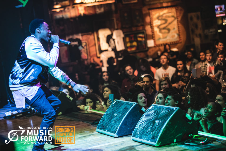 JVOTI performs at House of Blues Houston on April 18, 2017